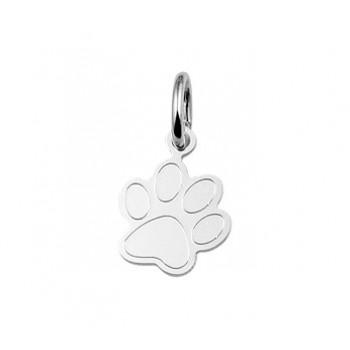 Zilveren bedel hondenpoot - 616088