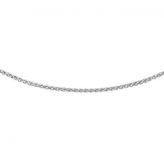 Zilveren vossestaart collier 45cm 1.6mm - 611263