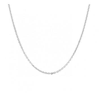 Zilver anker collier 60cm 1.3mm - 615052