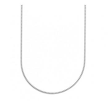 Zilver venitaans collier 42cm 1.4mm - 616238