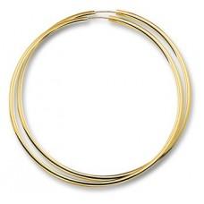 14 krt gouden oorringen 60x2.5mm