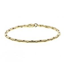 14krt gouden armband fantasie 19cm 3mm