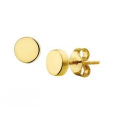 14 krt gouden oorknoppen 5.5mm