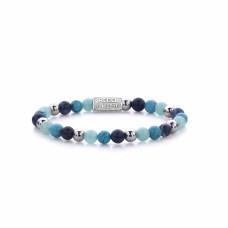 Rebel & Rose Jewelry Bracelet Blue Summer Vibes II 6mm S - 613771