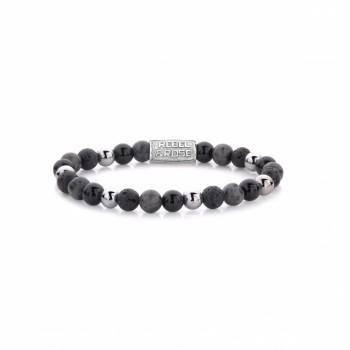 Rebel & Rose Jewelry Bracelet Shiny Night 6mm S - 613773