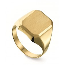14 krt gouden herenring maat 16.5 11.5x10mm