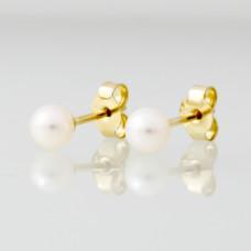 Cultive Parel 5mm gouden oorsteker - 603861