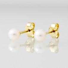 Cultive Parel 4.5mm gouden oorsteker - 611423