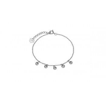 CLUSE Essentielle Silver Orbs Chain Bracelet CLJ12011 - 612423