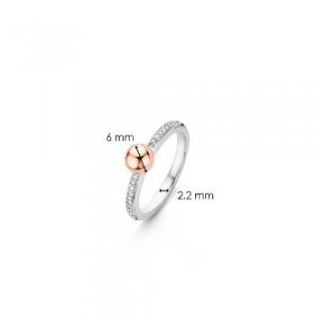 Ti Sento Ring Verguld 12136ZR/54 - 613140