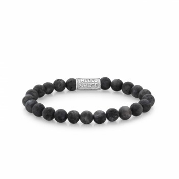 Rebel & Rose Jewelry Bracelet Mad Grey Seduction 8mm M - 613746