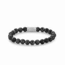 Rebel & Rose Jewelry Bracelet Grey Seduction 8mm L - 613747