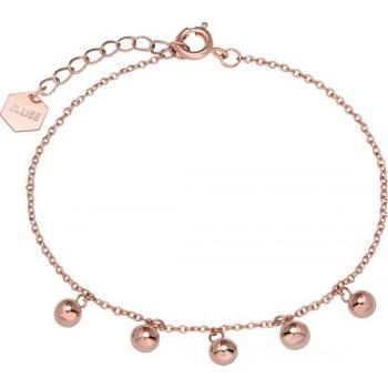 CLUSE Essentielle Rose Gold Orbs Chain Bracelet CLJ10011 - 612424