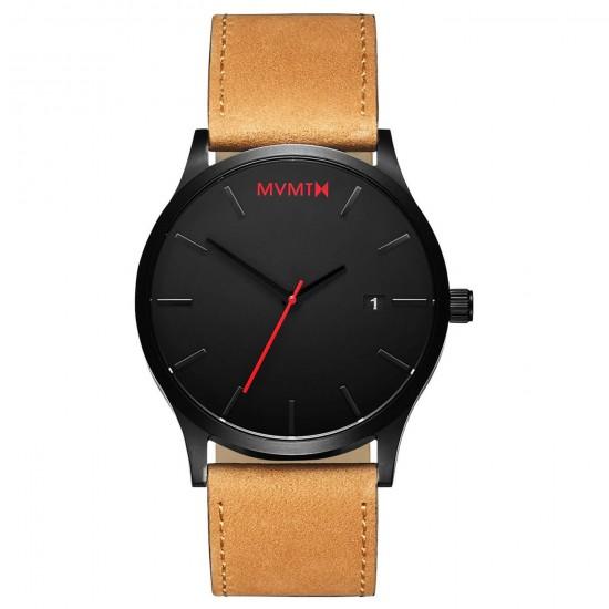MVMT Watches Classic 45mm Black Tan D-L213.5L.351 - 613376
