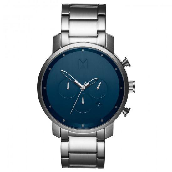 MVMT Watches Chrono 45mm Midnight Silver D-MC01-SBLUU - 613364