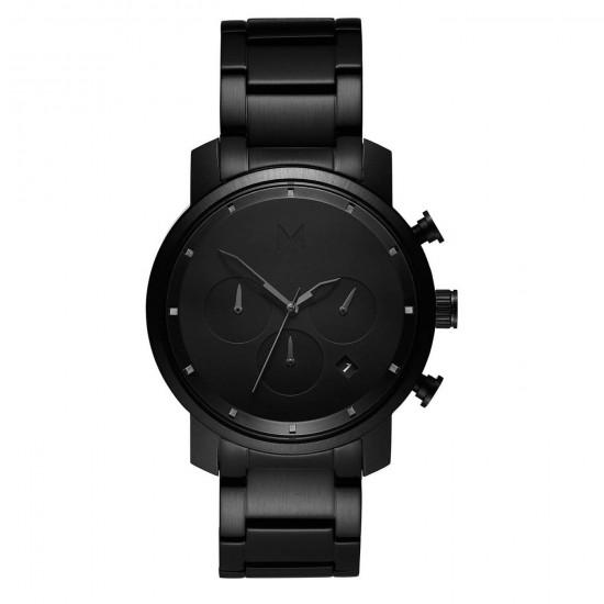 MVMT Watches Chrono 40mm Black Link D-MC02-BB - 613370