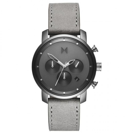 MVMT Watches Chrono 40mm Monochrome D-MC02-BBLGR - 613834