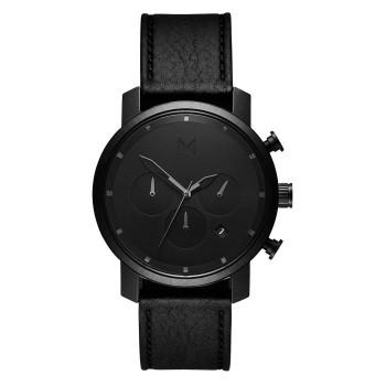 MVMT Watches Chrono 40mm Black Leather D-MC02-BLBL - 613372