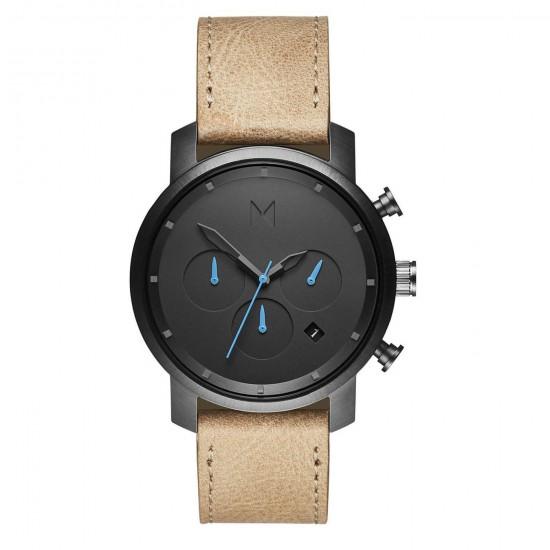 MVMT Watches Chrono 40mm Gunmetal Sandstone D-MC02-GML - 613373