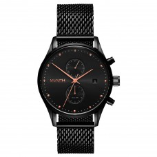 MVMT Watches Voyager 42mm Black Rose D-MV01-BBRG - 613381