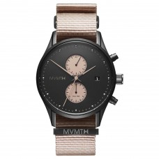 MVMT Watches Voyager 42mm Desert D-MV01-BLBR - 613387