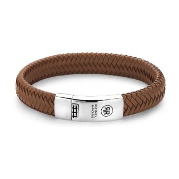 Rebel & Rose Jewelry Bracelet Braided Oval Hansome in Khaki XL - 613958