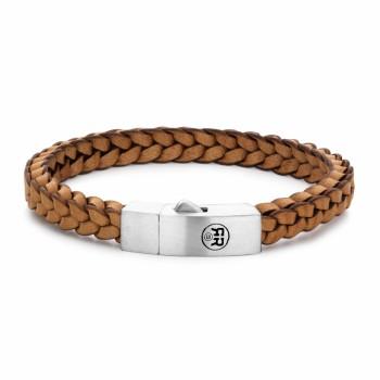 Rebel & Rose Jewelry Bracelets Braides Square 925 Cognac M - 613724