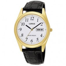 Lorus herenhorloge double leer zwart RXN56AX9 - 611878