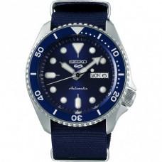 Seiko 5 Sports Automatic SS Nylon Blauw 100mtr - 614223