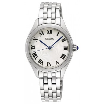 Seiko Dames Staal wit 50mtr SUR327P1 - 616048