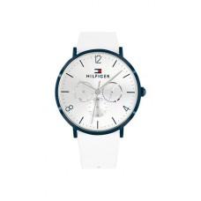 Tommy Hilfiger Watches Ladies Jenna Steel White/Blue TH1782033 - 613574