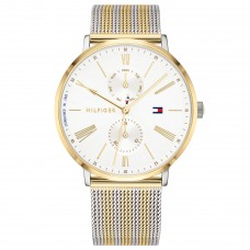 Tommy Hilfiger Watches Ladies Jenna Steel Bicolor TH1782074 - 613573
