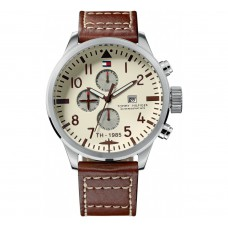 Tommy Hilfiger Watches Men Jackson Steel Brown TH1790684