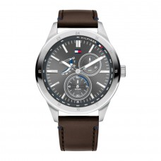 Tommy Hilfiger Watches Men Austin Leather Brown TH1791637 - 614276
