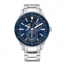 Tommy Hilfiger Watches Men Austin Steel Blue TH1791640 - 614278