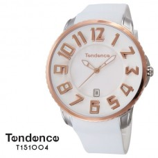 Horloge Tendence Round Gulliver Slim rose gold and silver TS151004 - 602406