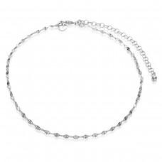 ZINZI zilveren enkelband gediamanteerd 23+4cm ZIE1458 - 613993