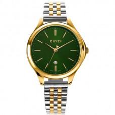 ZINZI Watch Classy 34mm groenewijzerplaat bicolor ZIW1035 - 615248