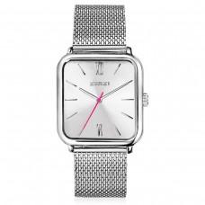 ZINZI Watch Roman Square klein silver meshband ZIW802M - 614685