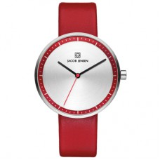 Jacob Jensen Watch Strata Red 283 - 611217