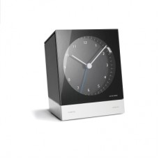 Jacob Jensen Alarm Clock Black 351 Radio Controlled