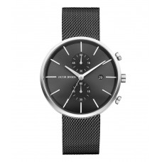 Jacob Jensen Watch Linear Mesh Black 626 - 611815